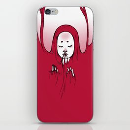 Drowned in Pink iPhone Skin