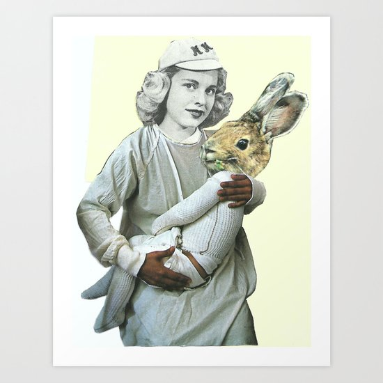 The Woman Who Gave Birth To A Rabbit, Part II Art Print