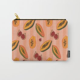 Figs and Papayas Carry-All Pouch