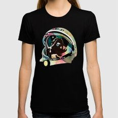 Laika SMALL Black Womens Fitted Tee