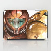 samus iPad Cases featuring Samus by Alonzo Canto