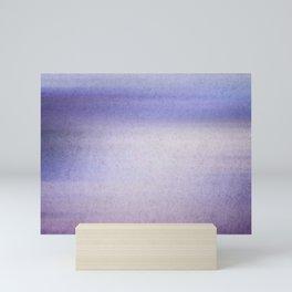 The blue Hour Mini Art Print