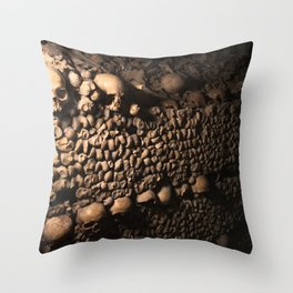 Wall of Souls Throw Pillow