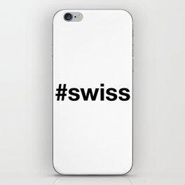 SWISS iPhone Skin