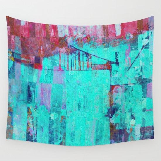 Los Colores de la Noche Wall Tapestry