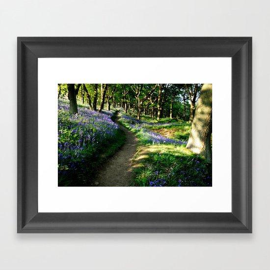 Bluebell Woods Framed Art Print