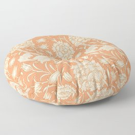 Wild Tulip by William Morris (1834-1896). Floor Pillow