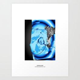 MOUNTAIN GLACIER TOUR IV Art Print