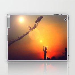 Kites in the wind Laptop & iPad Skin