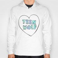 teen wolf Hoodies featuring TEEN WOLF by Sara Eshak