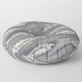 Tin of Sardines Floor Pillow