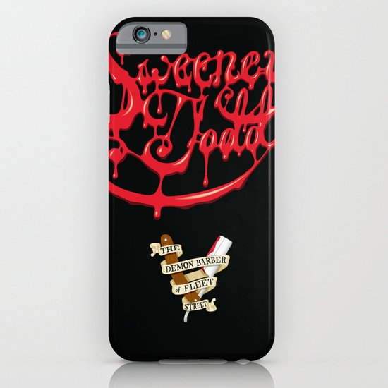 Sweeney Todd Blood iPhone & iPod Case