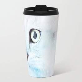 Fluffy starry cat Travel Mug