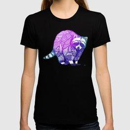 Zentangle Raccoon  T-shirt