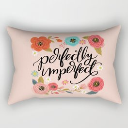 Pretty Not-So-Sweary: Perfectly Imperfect Rectangular Pillow