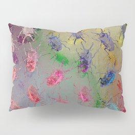 shiny stag beetles Pillow Sham