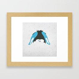 Belier Rabbit Framed Art Print