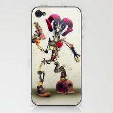 Invader Skull iPhone & iPod Skin
