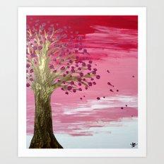 Sakura - Day Art Print