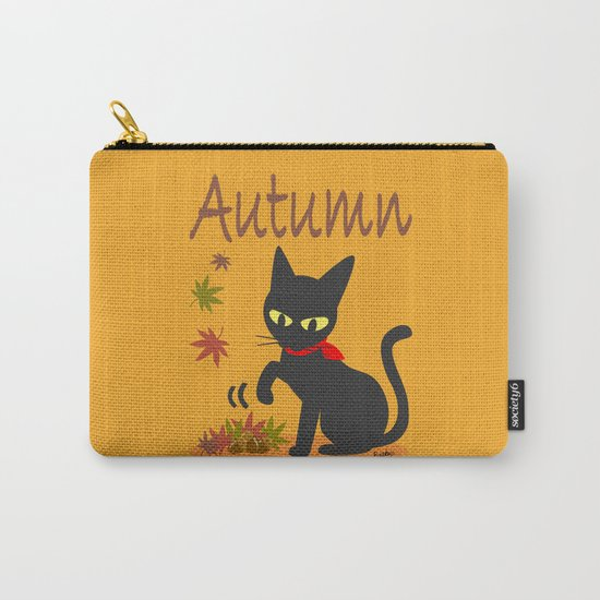 In the Autumn  Carry-All Pouch