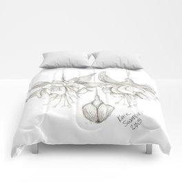 Fuschias Sketch Comforters