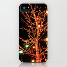 Holiday Lights iPhone Case