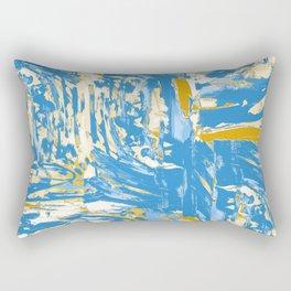Fields of Blue Rectangular Pillow