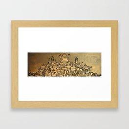 Petie Framed Art Print