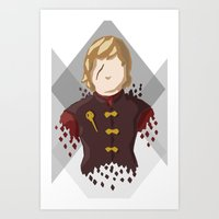lannister Art Prints featuring Tyrion Lannister by itsamoose