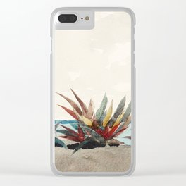 Nassau Beach with Century Plants by Winslow Homer, 1889 Clear iPhone Case