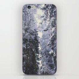 Freezing rastafaris iPhone Skin