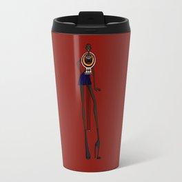 Masaii girl Travel Mug