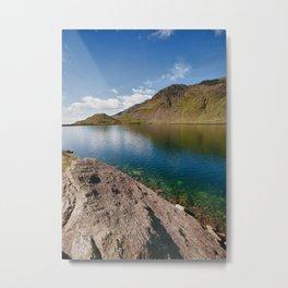 Levers Water Metal Print