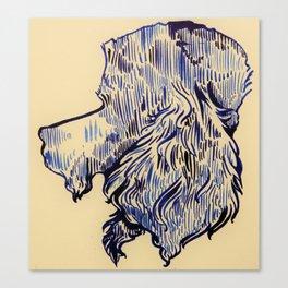 Flat-Top Love Canvas Print