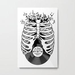 Til Death do us part. (v1) Metal Print