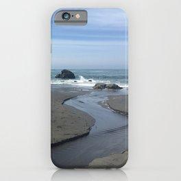 Klamath Beach in California iPhone Case