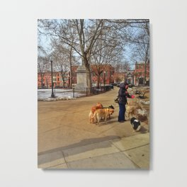 Winthrop Square Metal Print