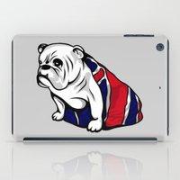 british iPad Cases featuring British Bulldog by Pancho the Macho