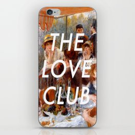 Luncheon with the Love Club iPhone Skin