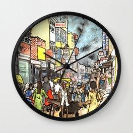 Freaky New Delhi Wall Clock