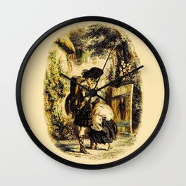 The Soldier's Return Wall Clock