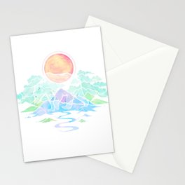 Ghost Bear Stationery Cards