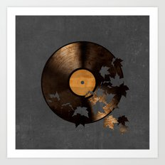 Autumn Song - colour option Art Print