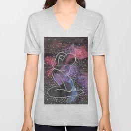 "Arctic Monkeys Inspired Illustration - ""She's made of outer space"" Unisex V-Neck"