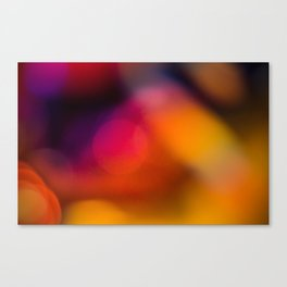 Abstract Background Candle Canvas Print