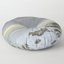 Naples Seascape 2/12 Floor Pillow