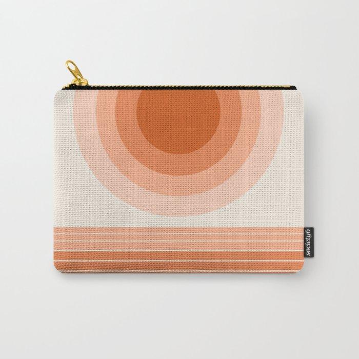 Cool Beans - minimal retro vibes sunset socal ocean desert 70s style 1970's art Carry-All Pouch