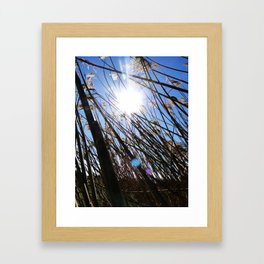Stuck Framed Art Print