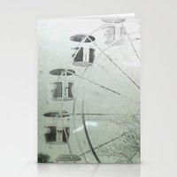 ferris wheel Stationery Cards featuring Ferris Wheel by SilverSatellite