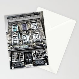 The Prospect Of Whitby Pub Art Stationery Cards